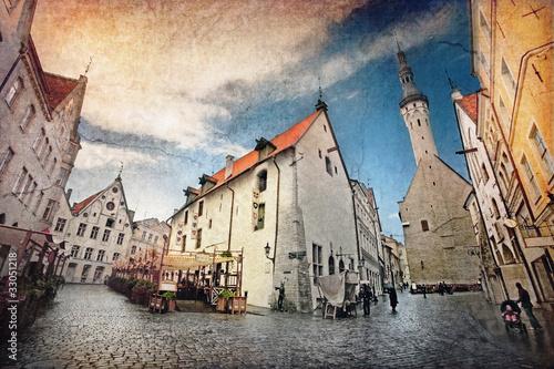 obraz PCV Old town
