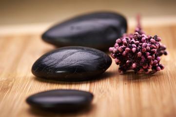 zen stones and potpourri