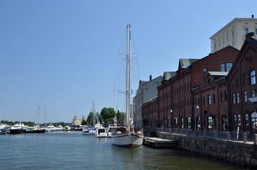 Yachthafen von Helsinki