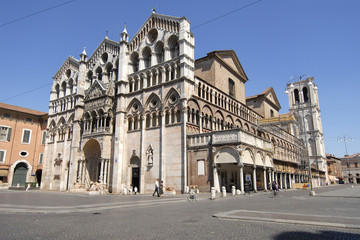 europa, italia, emilia romagna, ferrara, cattedrale