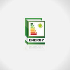 Energieklassen Buch Icon