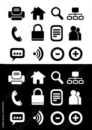icônes web