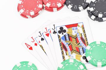 Four of A Kind Poker Hand