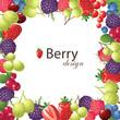 berries frame