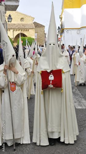 Nazarenos de las hermandad de la merced, Semana Santa Córdoba