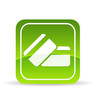 Green Credit Debit Card Icon