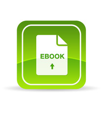 Green Ebook Document Icon