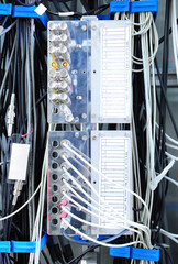 The communication network server