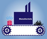 manufacture symbol poster