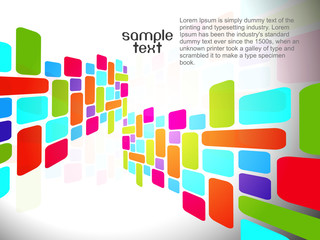 Abstract colorfull mosaic background