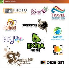 Icon design elements