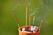 incense sticks smoking