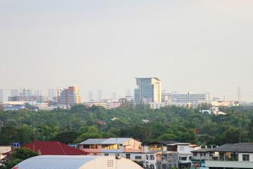 Bangkok suburbs.