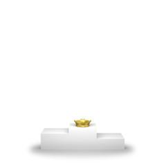表彰台と王冠