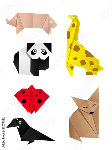 More Origami Animals