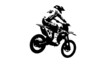 Постер, плакат: Motocross jumper