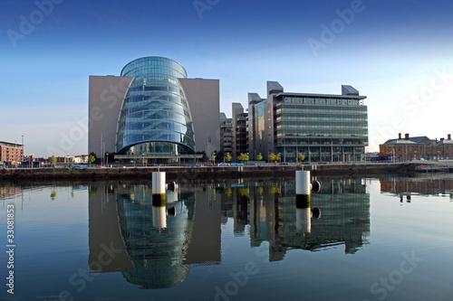 Poster Buildings At North Wall Quay Dublin