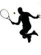 man tennis player forehand