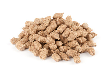 Extruded bran