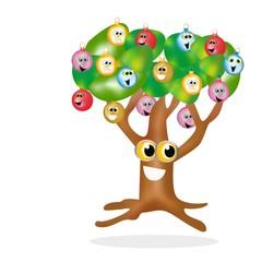 albero palla