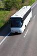 Leinwanddruck Bild - Bus travel
