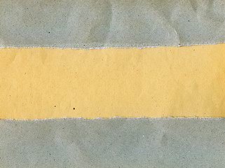 Torn grainy paper
