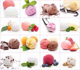 Eiskarte 3 - Viele unterschiedliche Eiskugeln