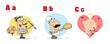 ABC Funny Cartoon Alphabet