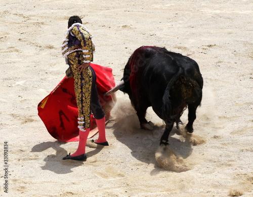 Staande foto Stierenvechten Matador