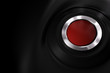 customizable red power button over black