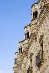 parte superior del palacio del infantado, guadalara