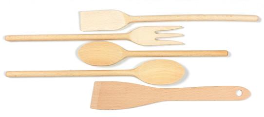 Posate di legno