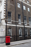 Fototapeta czerwony - londyn - Ulica