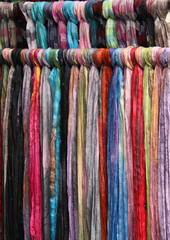 Foulards de seda