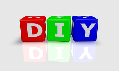 Cube word DIY - Do It Yourself