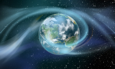 Wireless Energy around the Earth