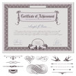 romantic certificate template (download without sample text)
