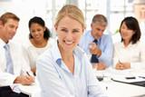 Recruitment office meeting