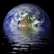 Fototapeten,klimawandel grün,wasser,verschwinden,mediterane küche
