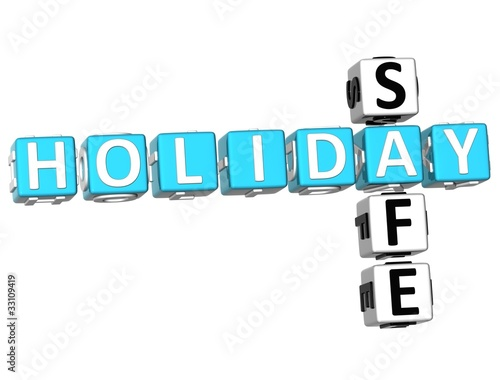 3D Holiday Safe Crossword