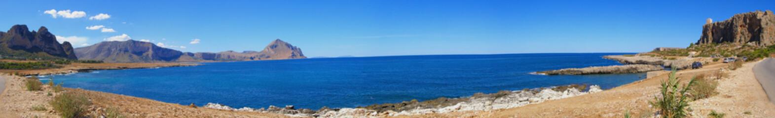 Sicily panorama (Italy)