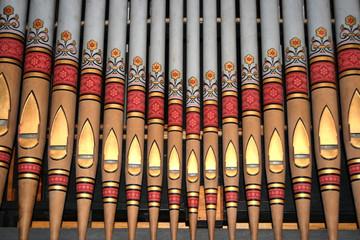 Decorative Church Organ Pipes