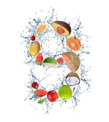 "Fresh fruit number ""9"""