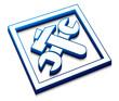 3d setting web icon