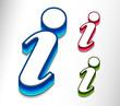 information web icon design element