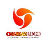 logo , chakras, meditazione poster