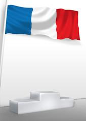 France on pedestal