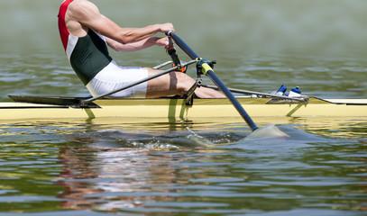 Rowing stroke
