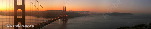 Golden Gate Bridge at Dawn|33120645