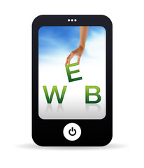 Web Mobile Phone